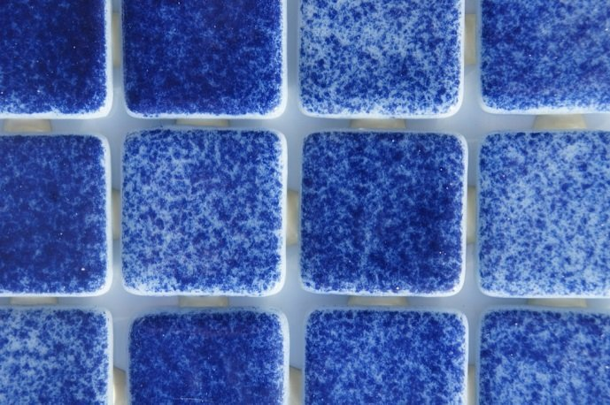 Caribbean waterline tiles