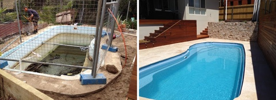 Pool Renovations Sydney Before and After