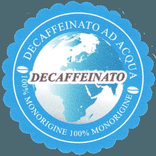 decaffeinato ad acqua