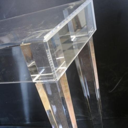 Plexiglas lavorato per fresatura