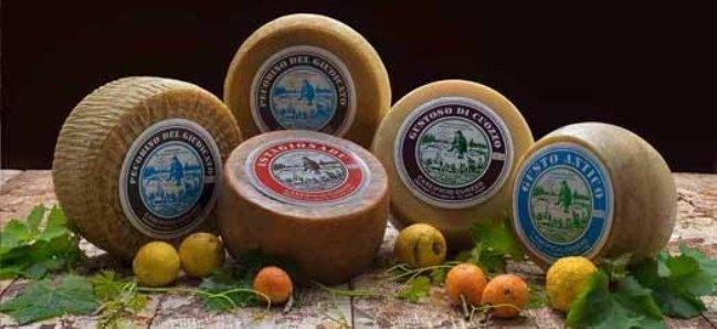 formaggio pecorino sardo cuozzo