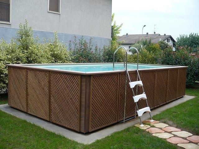 piscina elegante