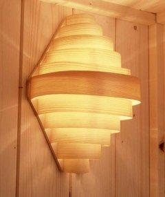 copri lampada sauna