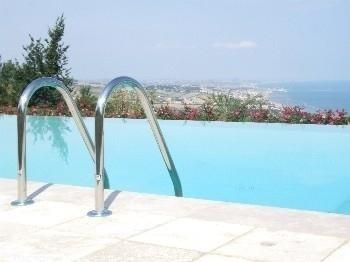 scaletta piscine