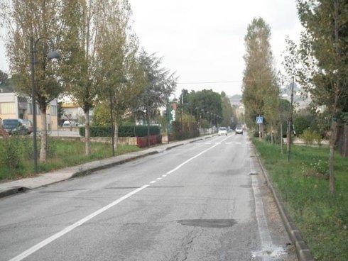 Sistemazione urbanistica via Brodolini - Committente Comune di Serra de Conti