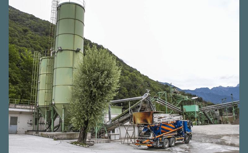 impianti per la produzione di calcestruzzo