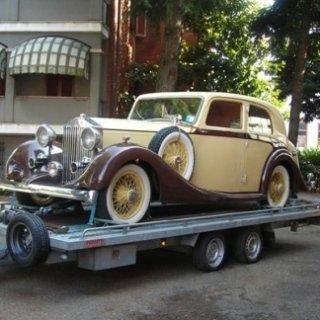 trasporto auto d'epoca