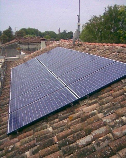 Applicazione su tetto
