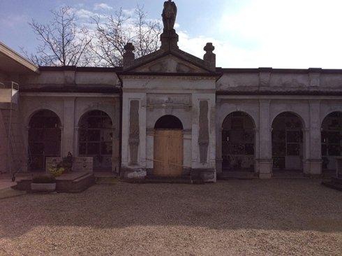 Cimitero prima del restauro