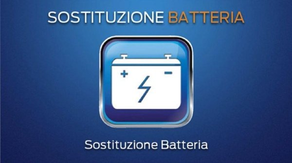 sostituzione batteria