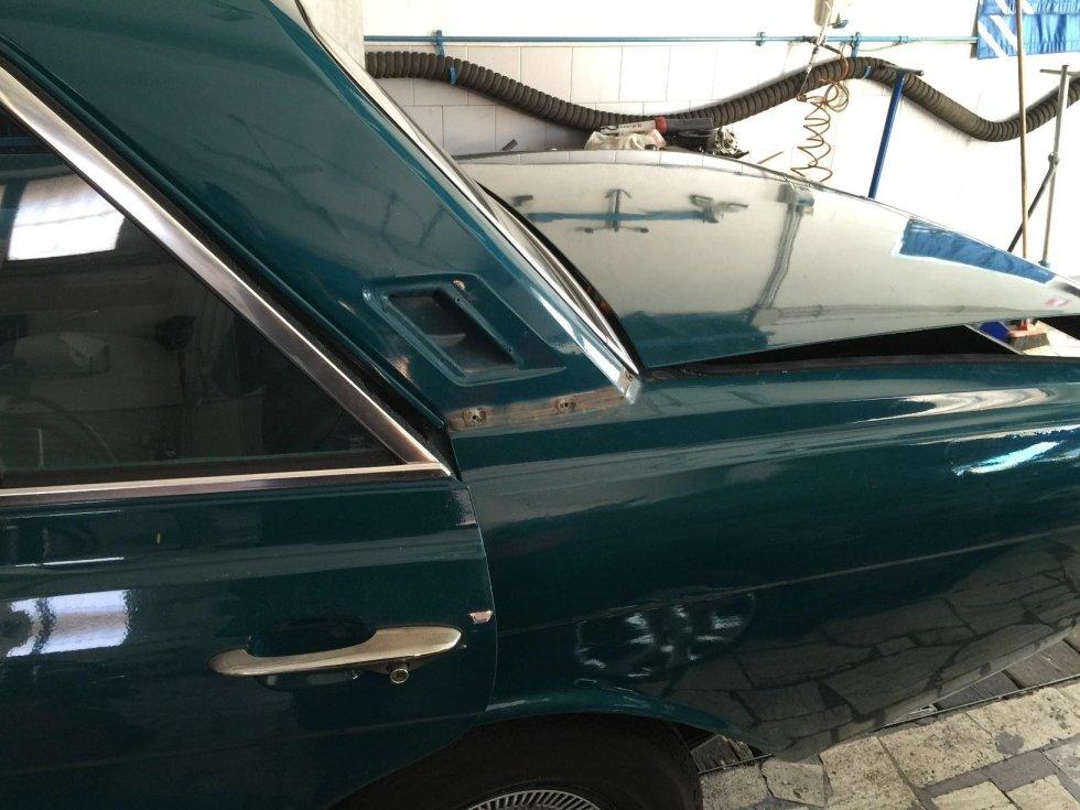Ford Taunus smontaggio