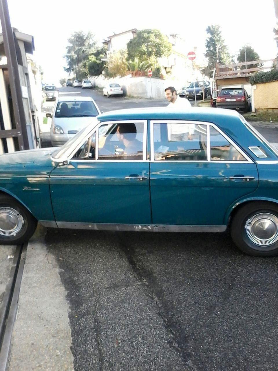 Ford Taunus prima del restauro