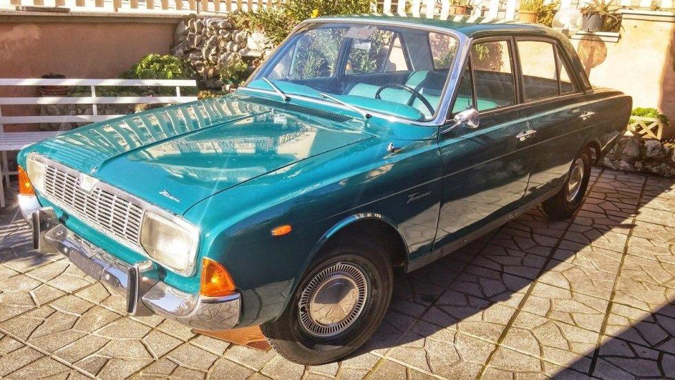 Ford prima del restauro