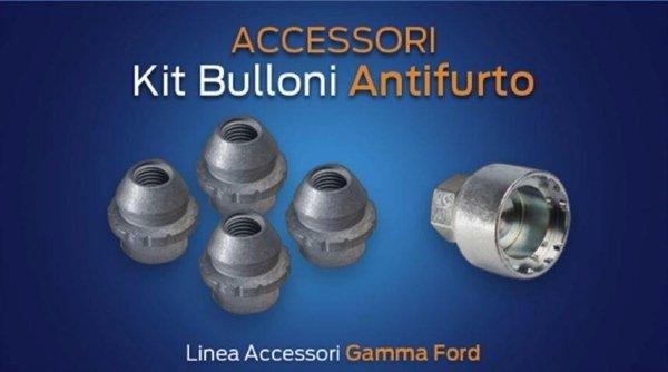 Kit Bulloni Antifurto