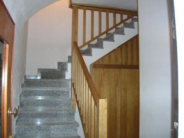 Scale di casa in legno