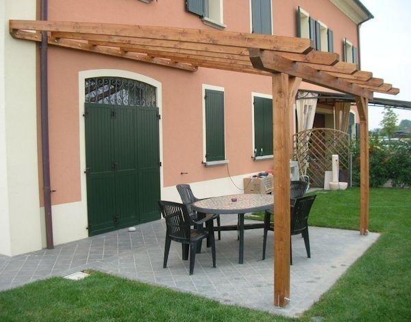 Pergolati e tettoie in legno