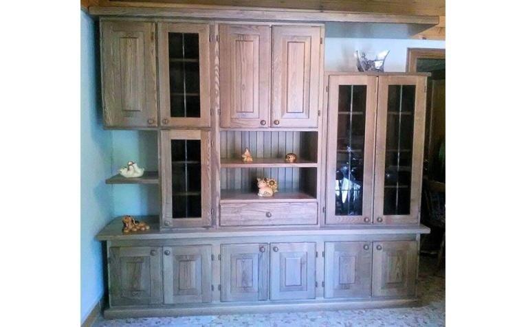 Mobile da sala in legno massello