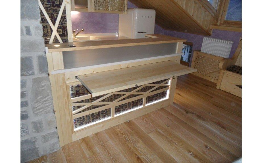 Mobili da cucina in legno