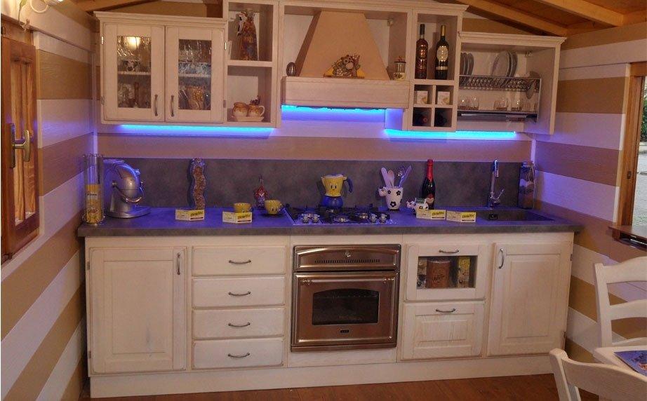 Cucina casetta legno