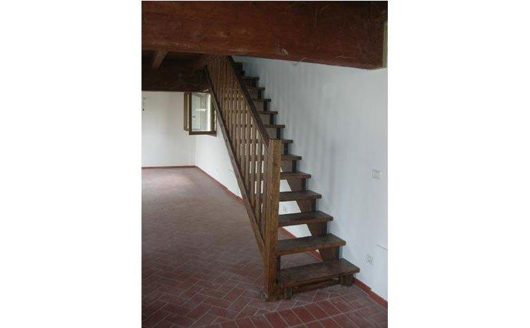 Scale per interni in legno