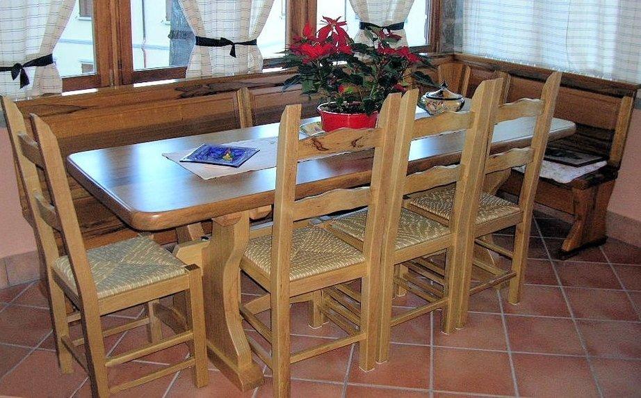 Tavolo frakè naturale