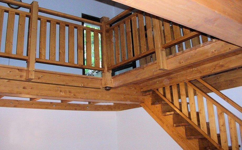 Scala in legno Emilia