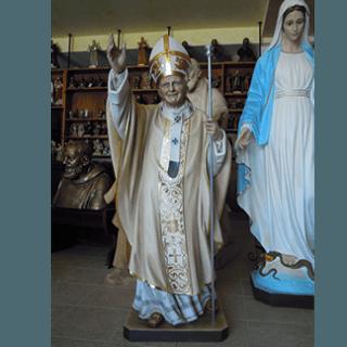 Statua in resina Papa Giovanni Paolo II