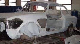 verniciatura totale, fondo vernice, forno auto