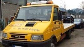 veicoli da lavoro come nuovi, camion, copertura e preparazione verniciatura