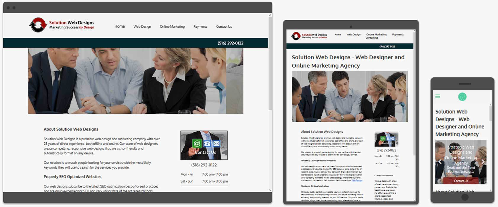 Responsive Web Design Company Solution Web Designs