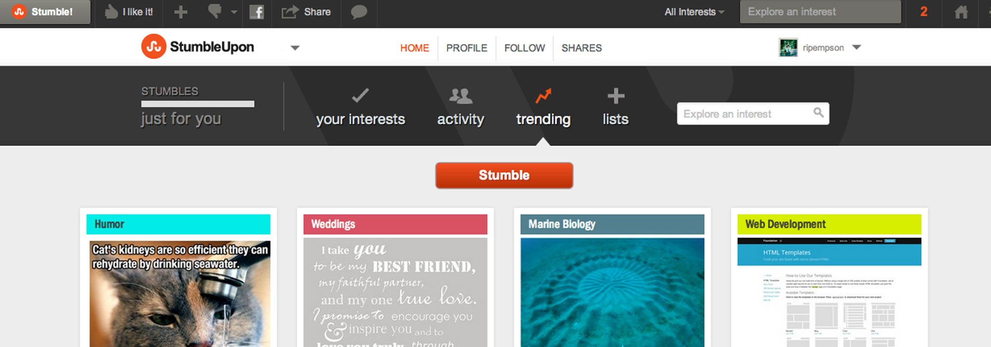 StumbleUpon Marketing Agency - Solution Web Designs