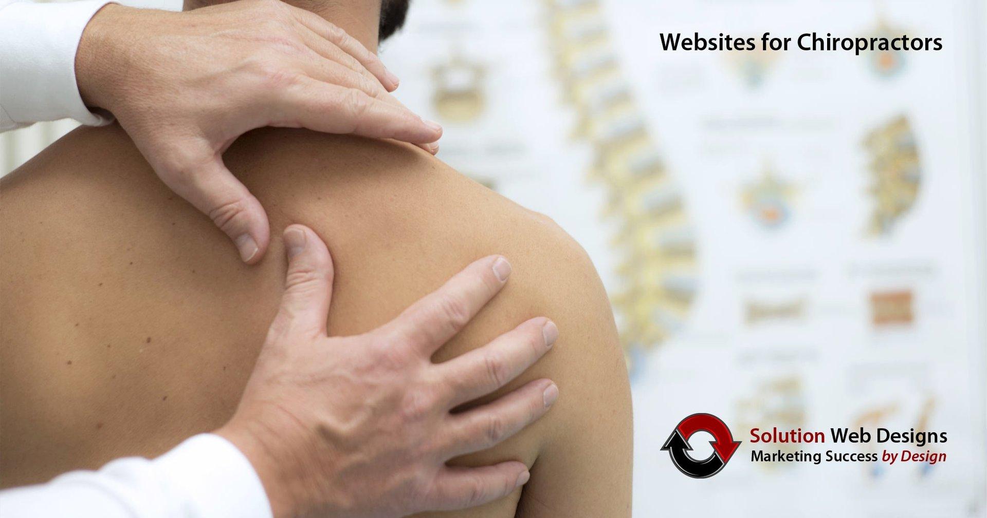 Chiropractic Website Design - Solution Web Designs