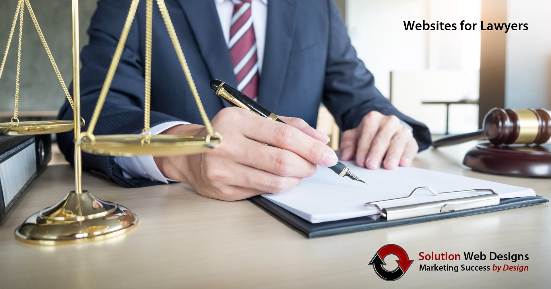 Websites for Lawyers - Law Firm Marketing Agency - Solution Web Designs