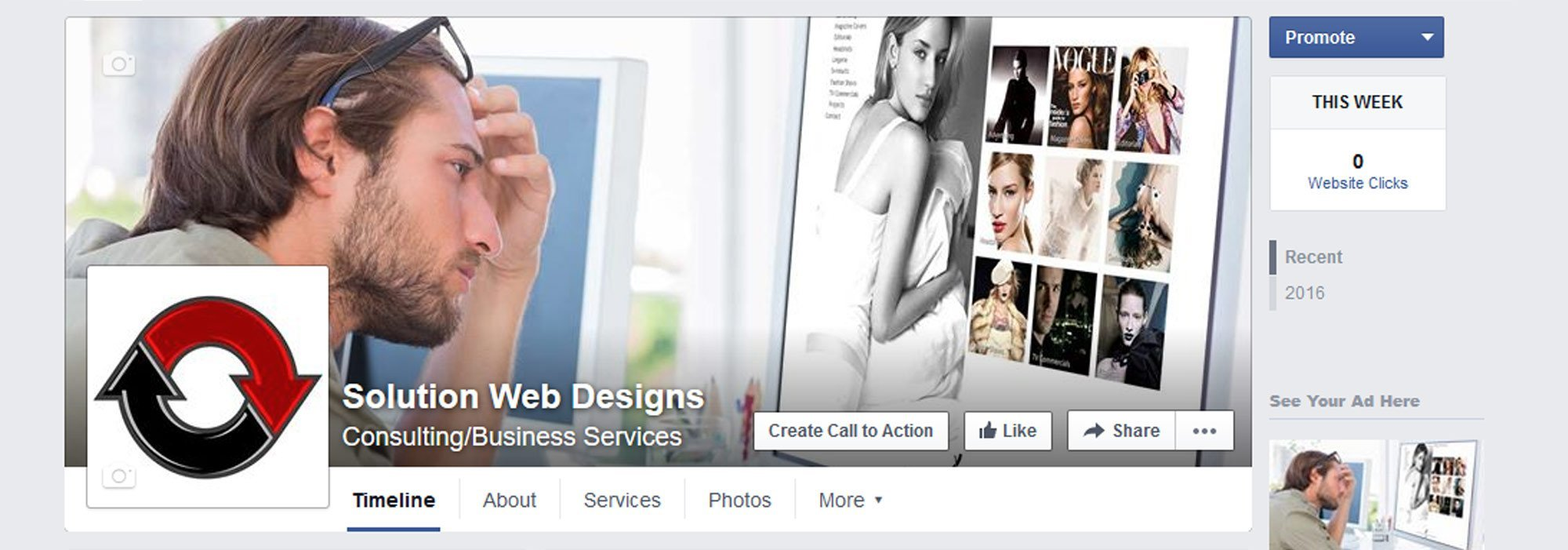 Facebook Marketing Agency Solution Web Designs