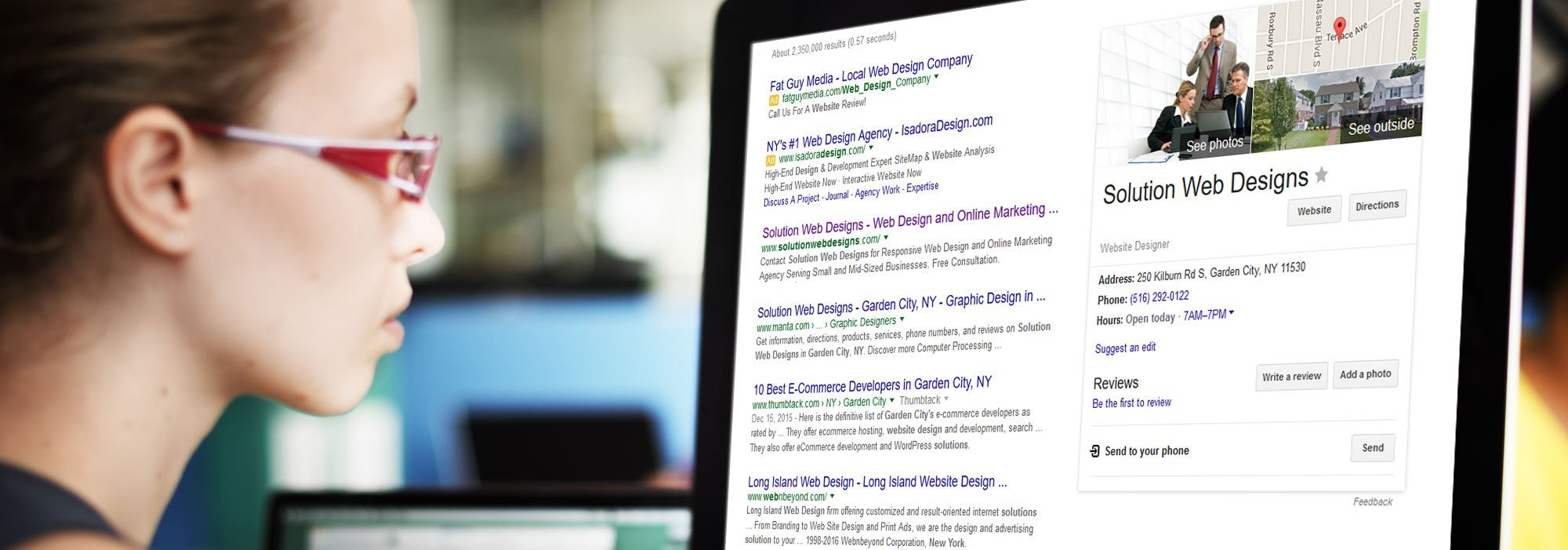 Local SEO Services by Solution Web Designs