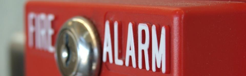 Allarme per sicurezza antincendio