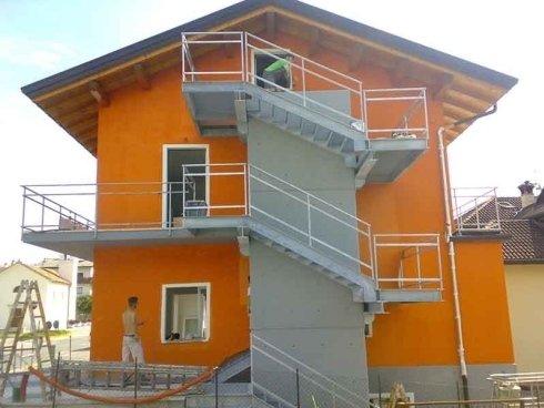 lavori edili di verniciatura edifici civili