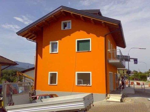 lavori edili di verniciatura edifici