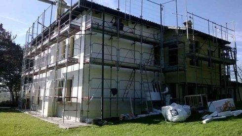 installazione cappotti termici edifici