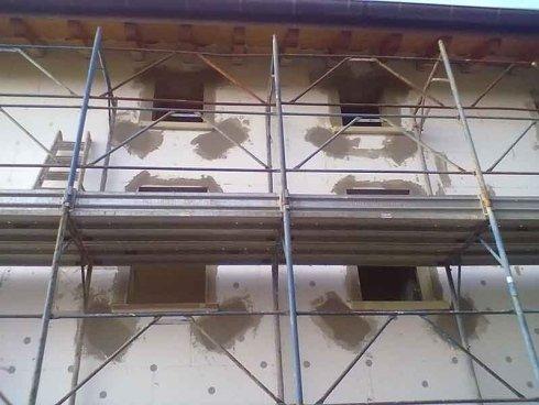 realizzazione cappotti termici ville