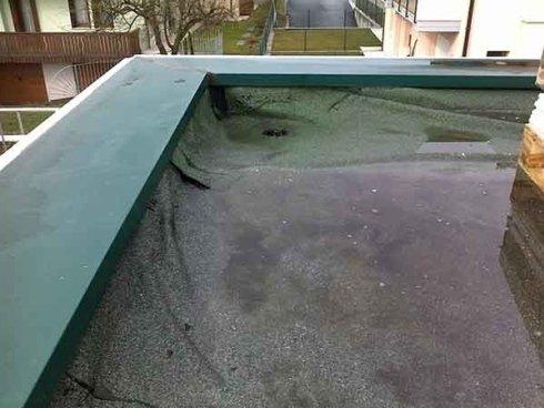 applicazione coibentazione termica tetto
