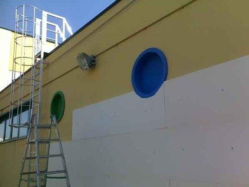 realizzazione coibentazione termica parete