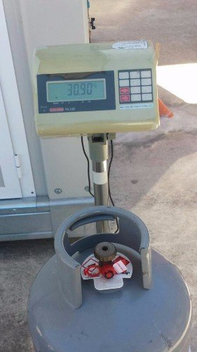 Bombola di gas con centralina