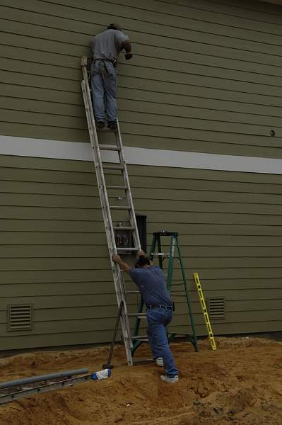 Electricians - Always being safety conscious
