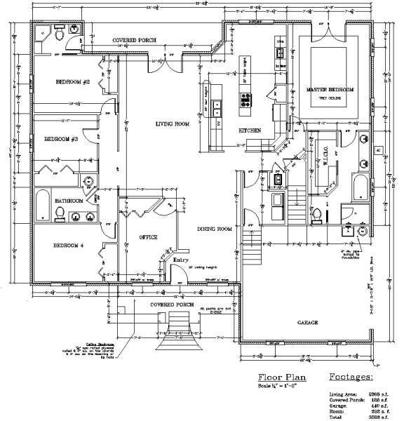Floor plans pettinato construction inc gulf breeze fl for Garage floor plans with bonus room