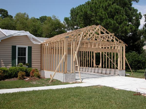 Garages pettinato construction inc gulf breeze fl for Attached garage addition plans