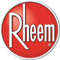 Rheem air conditioning and heating logo
