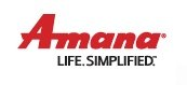Amana air conditioning and heating logo