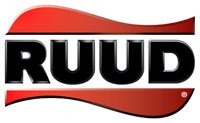 Ruud air conditioning and heating logo