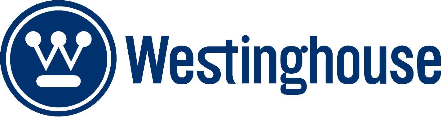 Westinghouse air conditioning and heating logo.